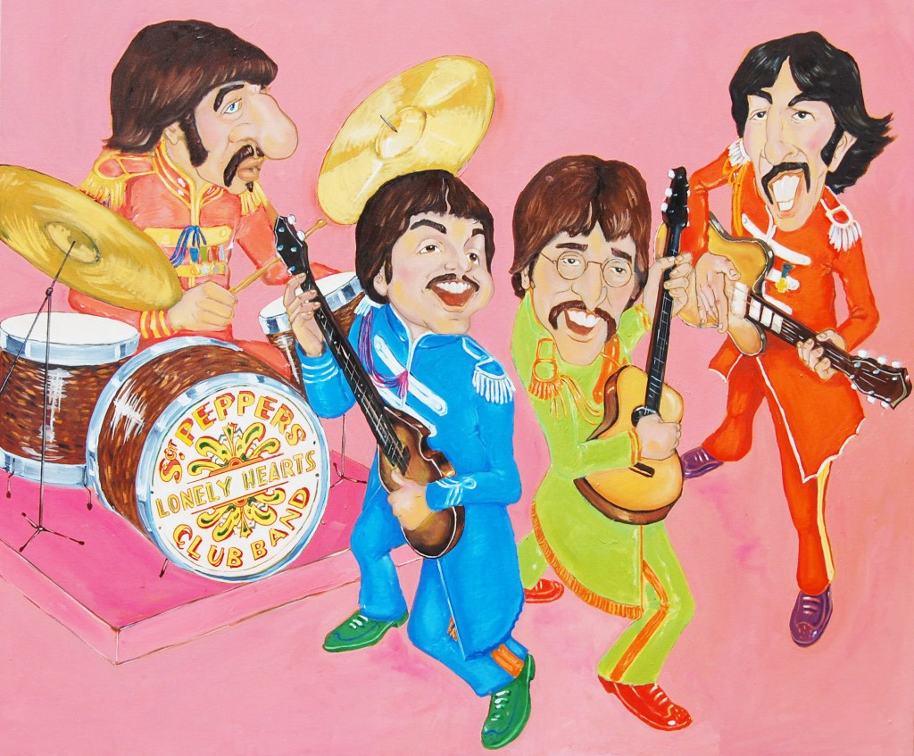 "The Beatles ""Sgt. Pepper's Lonely Hearts Club"""