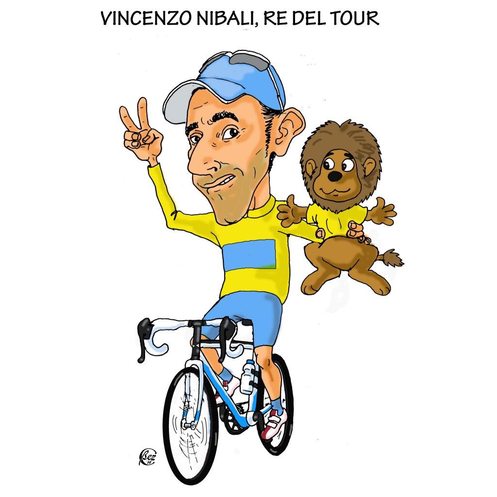 Nibali, vincitore del Tour 2014