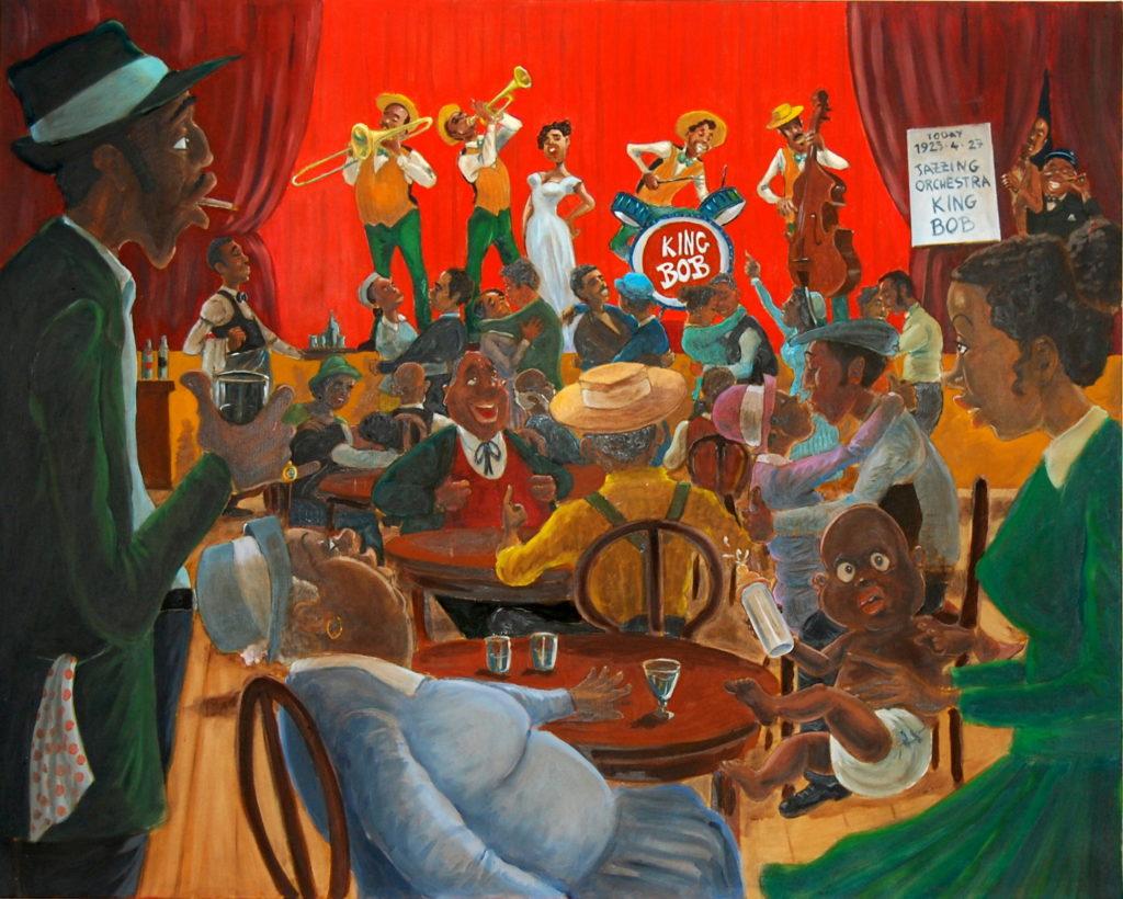 Jazzing orchestra